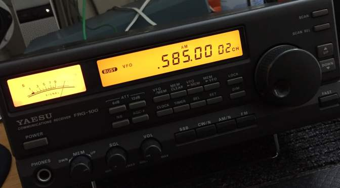 Yaesu FRG-100 Shortwave Receiver for Sale