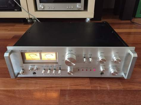 img_6134 Lovely Lenco A-50 Integrated Amplifier for Sale