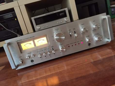 img_6145 Lovely Lenco A-50 Integrated Amplifier for Sale