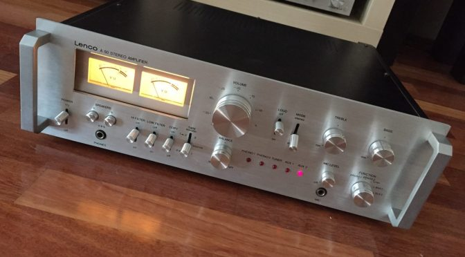 Lovely Lenco A-50 Integrated Amplifier for Sale