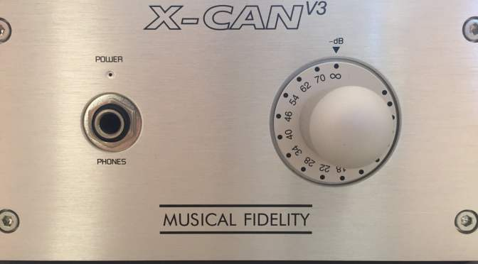 Musical Fidelity X-CAN V3 Class-A Headphone Amplifier for Sale