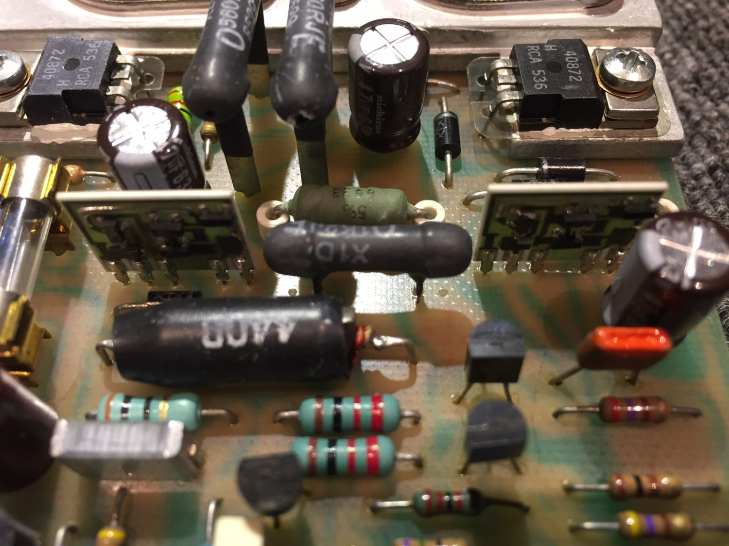 Classic Quad 405-2 Amplifier Restoration