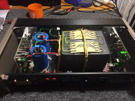 img_6586 Classic Quad 405 Power Amplifier Restoration