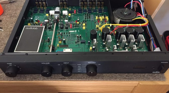 Audiolab 8000Q Preamplifier Repair