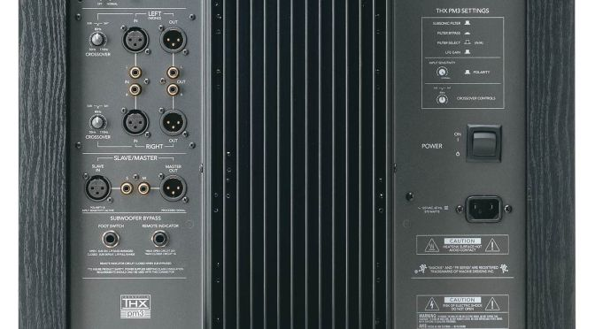 Mackie HRS120 THX Studio Subwoofer For Sale