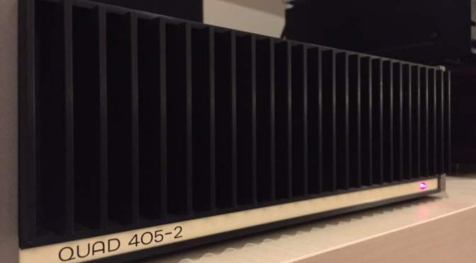 Classic Quad 405 Power Amplifier Restoration