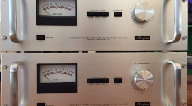 Accuphase M-60 Power Amplifiers Repair & Restoration