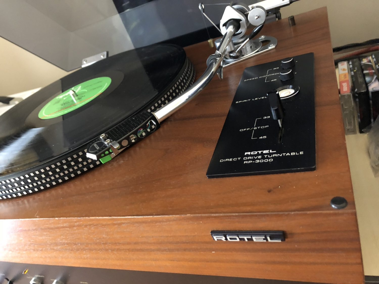 Gorgeous Rotel RP-3000 Direct Drive Turntable + SME 3009 + Rega Cart for Sale
