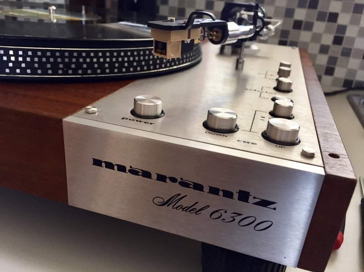 Marantz Model 6300 Direct-Drive Turntable