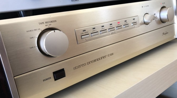 Accuphase C-202 Line-Level Preamplifier Service & Review