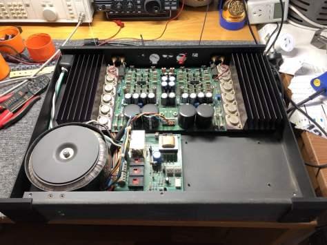 img_1677 Krell KAV-150a Power Amplifier Repair & Restoration