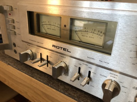 img_1779 Stunning Rotel RA-1412 Amplifier Cleaned, Serviced & for Sale!