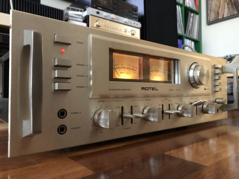 img_1786 Stunning Rotel RA-1412 Amplifier Cleaned, Serviced & for Sale!