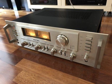 img_1789 Stunning Rotel RA-1412 Amplifier Cleaned, Serviced & for Sale!