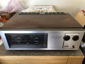 Rare Luxman M-4000 Power Amplifier Repair & Service