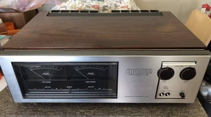 Rare Luxman M-4000 Power Amplifier Repair & Service