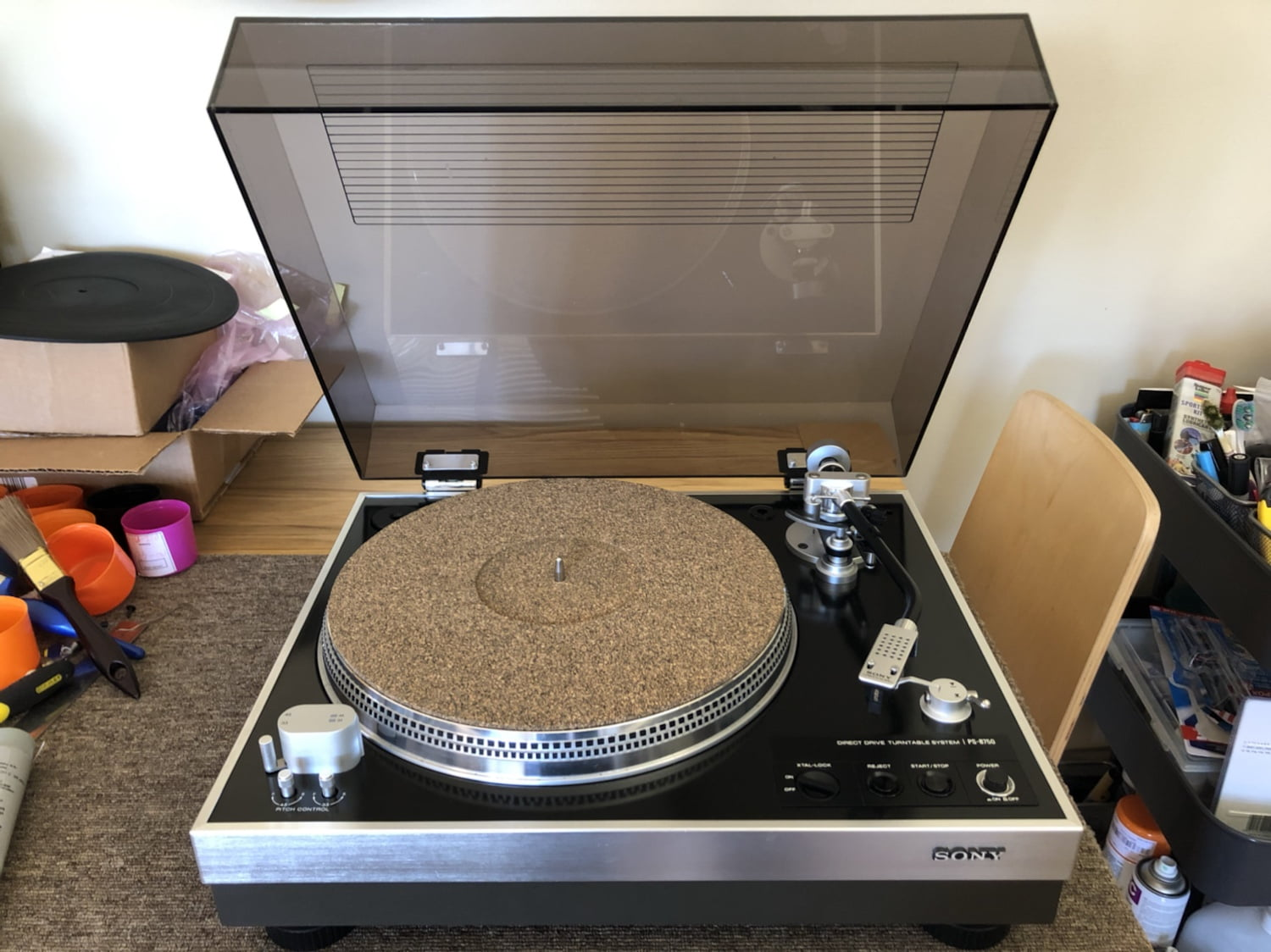 Sony PS-8750 Direct Drive Turntable
