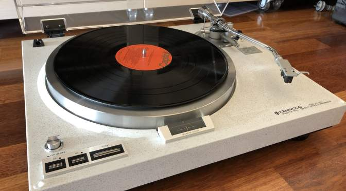 Iconic Kenwood KD-650 Turntable Repair & Review