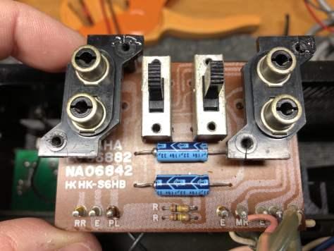 Beautiful Yamaha CA-2010 Integrated Amplifier Repair & Restoration