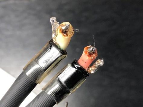 Yamaha GT-2000 tonearm cable termination