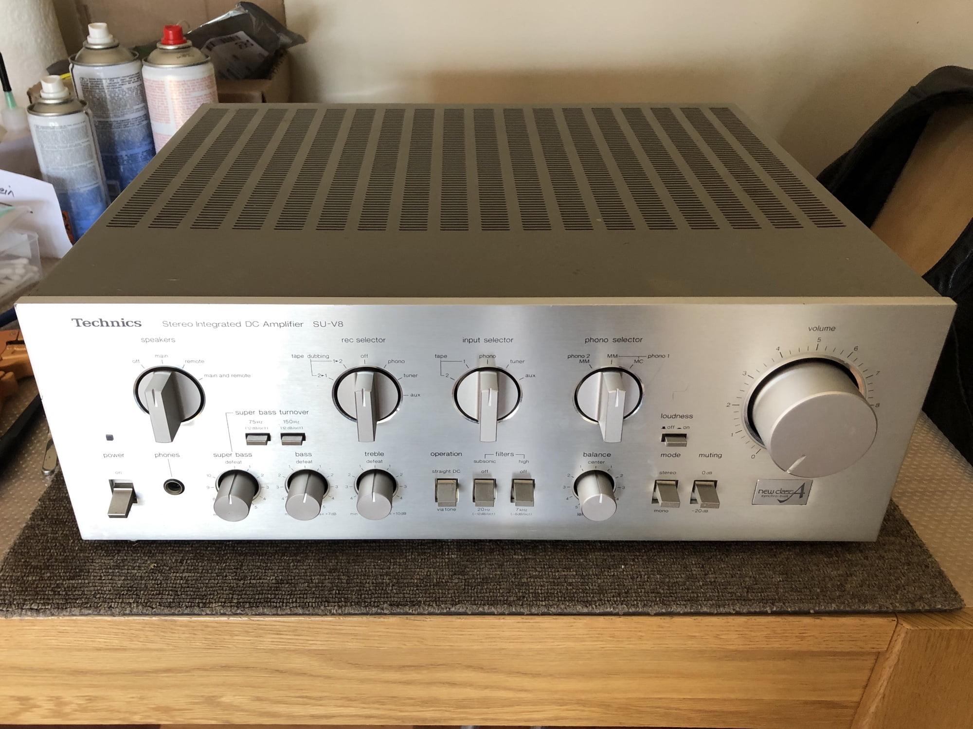 Lovely Technics SU-V8 Amplifier Repair & Service