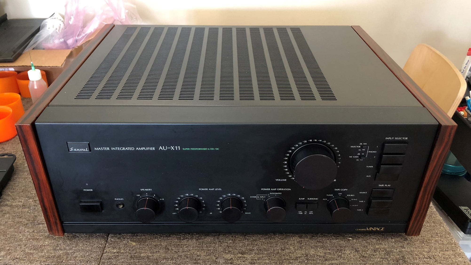 Ultra-Rare Sansui AU-X11 Master Integrated Amplifier