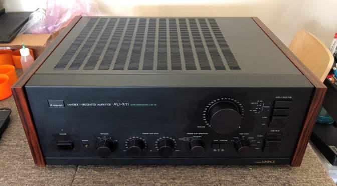 Ultra-Rare Sansui AU-X11 Master Integrated Amplifier