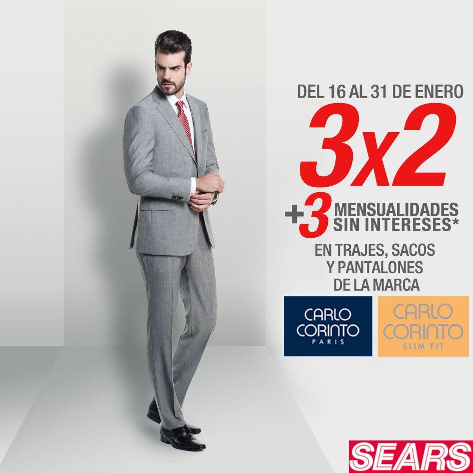 06f3f31406aa4 Sears tiene la siguiente promoción en el departamento de caballero de las  tiendas departamentales Sears