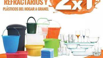 4acebc5fdb La Comer - Temporada Naranja 2018   2X1 en toda la cristalería y plásticos  para el