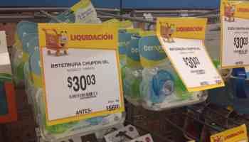 30.03 - Walmart - Set de 2 chupones de silicón para bebé marca Ternura con  el 85ab6867342