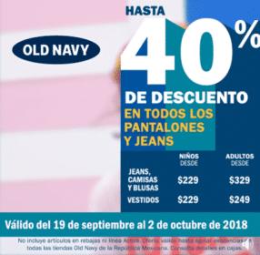 a8989276ee Old Navy - 40% de descuento en todos los pantalones y Jeans para ...