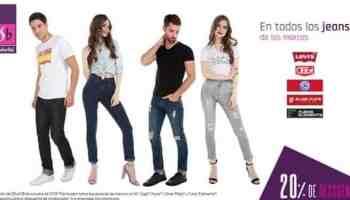 787d800702 Suburbia - 20% de descuento en todos los jeans de las marcas Levi s