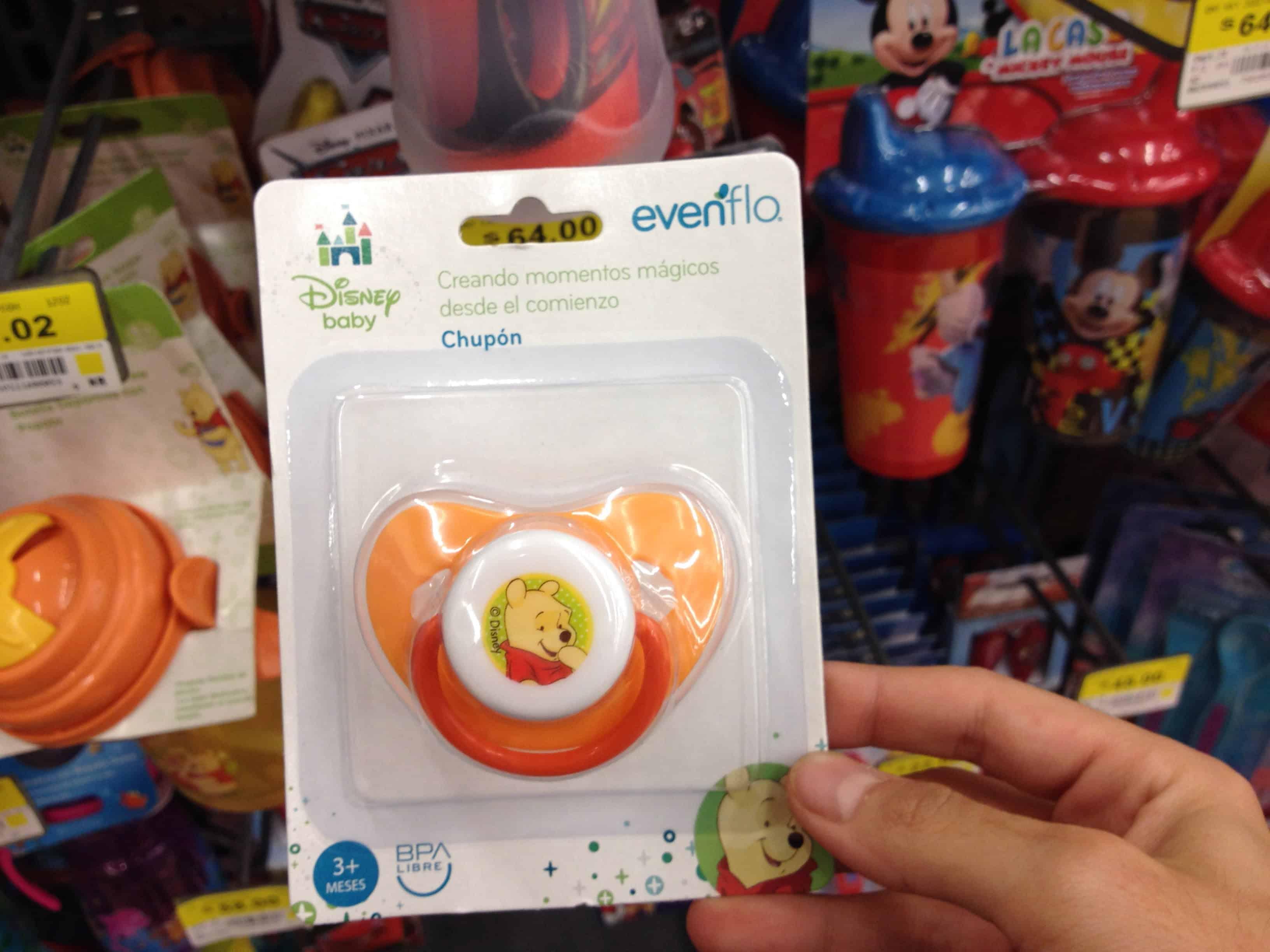 2bc51e1fe $5.01 – Walmart – Chupón marca Evenflo línea Disney Winnie Pooh con el 85%  de descuento… - LiquidaZona