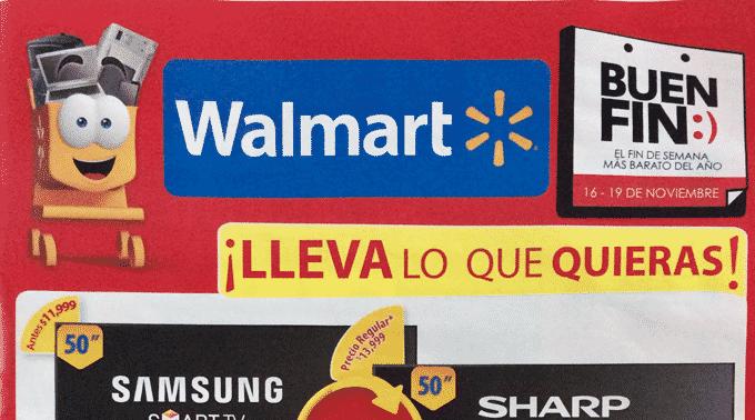 Walmart - Folleto Especial del 16 al 19 de noviembre de 2018 / El Buen Fin...