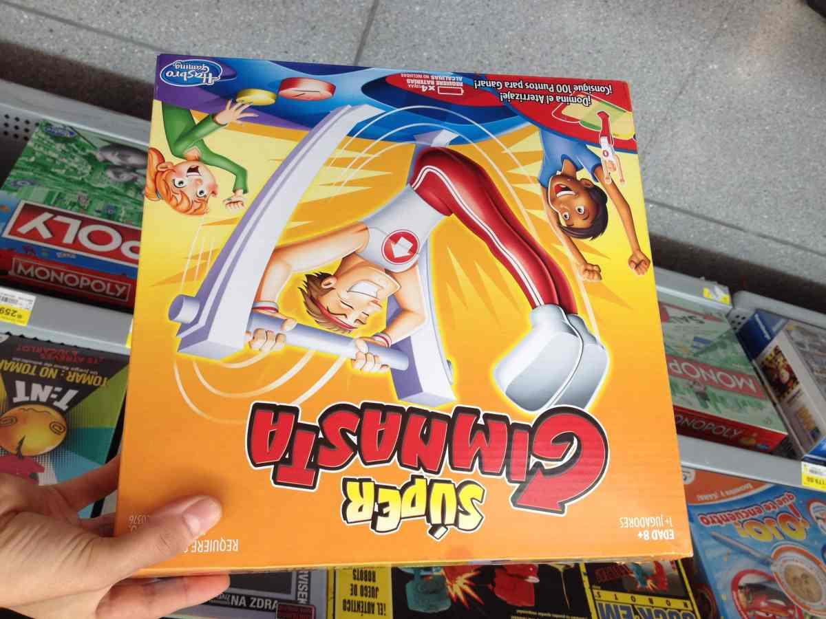 199 03 Walmart Juego De Mesa Super Gimnasta De Hasbro Con El 45