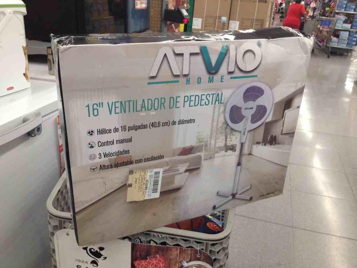 """$38.01 - Walmart - Ventilador de pedestal marca Atvio Home de 16"""" con el 85% de descuento..."""