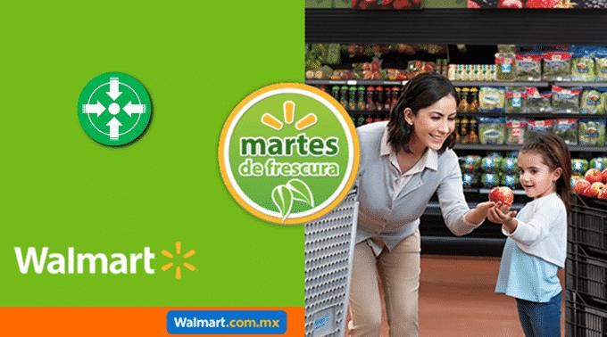 Walmart - Martes de Frescura 21 de mayo de 2019 / Jitomate Bola y Saladet a $11.90kg y más...