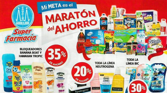Farmacias Guadalajara - Folleto del 16 al 30 de abril de 2019 / Maratón del Ahorro...