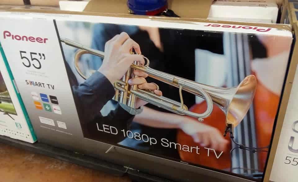 """$3,895.01 - Walmart - Pantalla LED SmartTV Pioneer de 55"""" con el 75% de descuento..."""