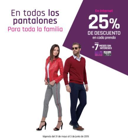 Suburbia 50 De Descuento En La Segunda Compra En Pantalones Para Toda La Familia Liquidazona