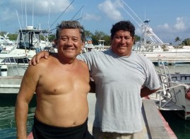 Juan and Javier Crew of the Bonita Luna