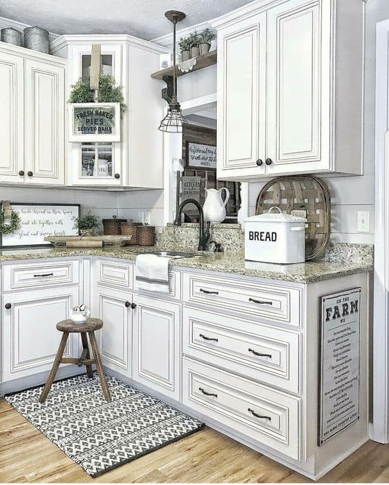 antique white kitchen cabinets faucets at menards 28 ideas in 2019 liquid image farmhouse