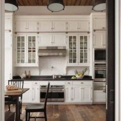 Antique White Kitchen Cabinets Decorative Canisters 28 Ideas In 2019 Liquid Image With Dark Wood Floors