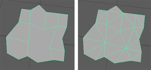一発で三角形フェースにしてくれるので便利