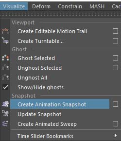 Create Animation Snapshot□