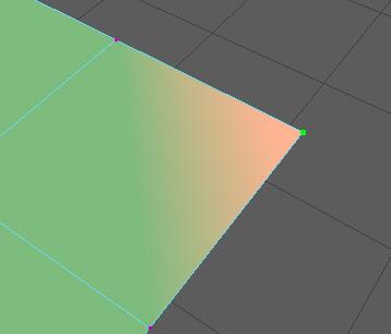 頂点カラーの値を変えました