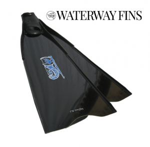 Cliff Etzel freedives exclusively with Waterway Fiberglass fins in all my freediving
