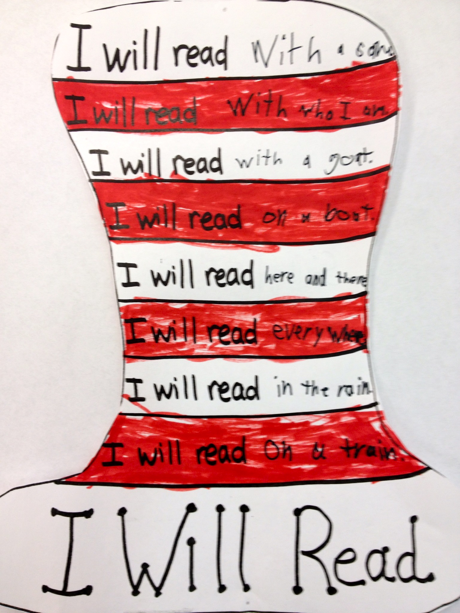 Rhyming Dr Seuss
