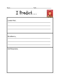 Predicting Outcomes Worksheets Second Grade. Predicting ...