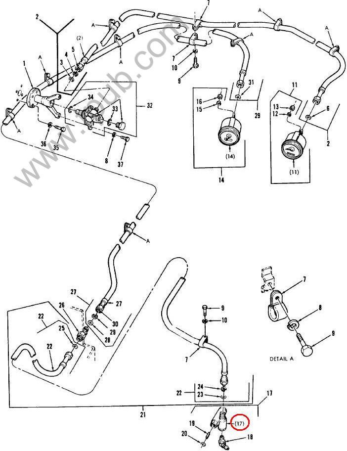 6680-00-040-0116 Adapter, Speedometer-tachometer Drive